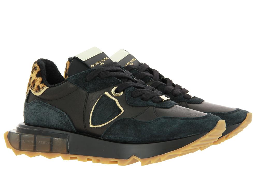 Philippe Model Sneaker MONDIAL ANIMALIER NOIR