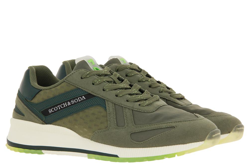 Scotch & Soda Sneaker VIVEX ARMY GREEN