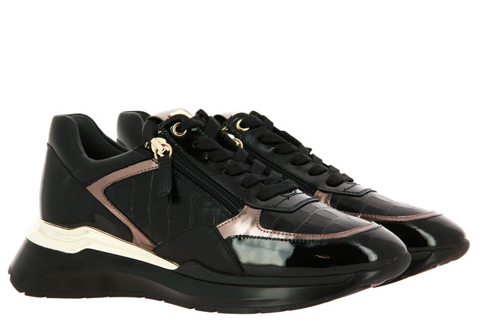 Högl Sneaker CROCO-LEDER SCHWARZ (40½)