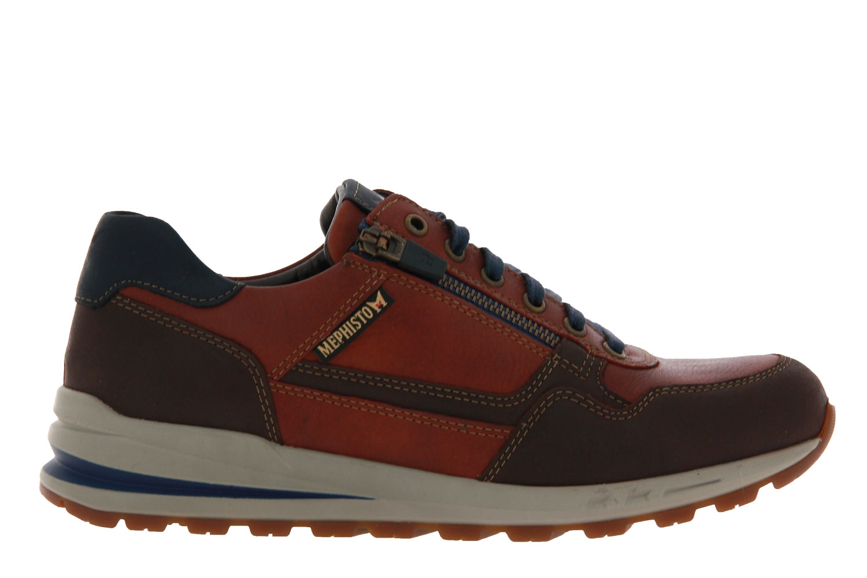 Mephisto Sneaker BRADLEY VELOURSPORT DARK BROWN (43)