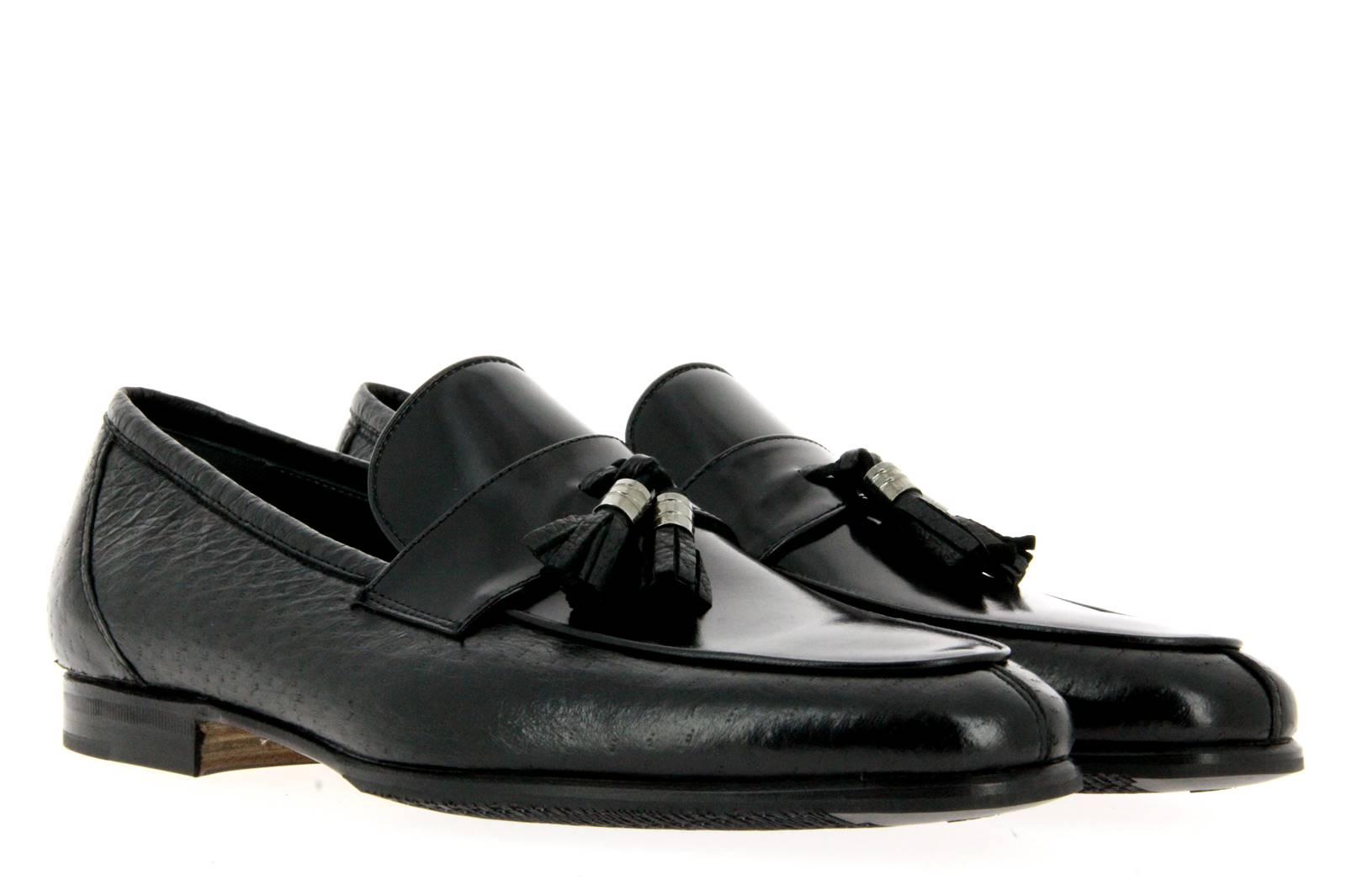 Moreschi Slipper PECCARY NERO (42½)