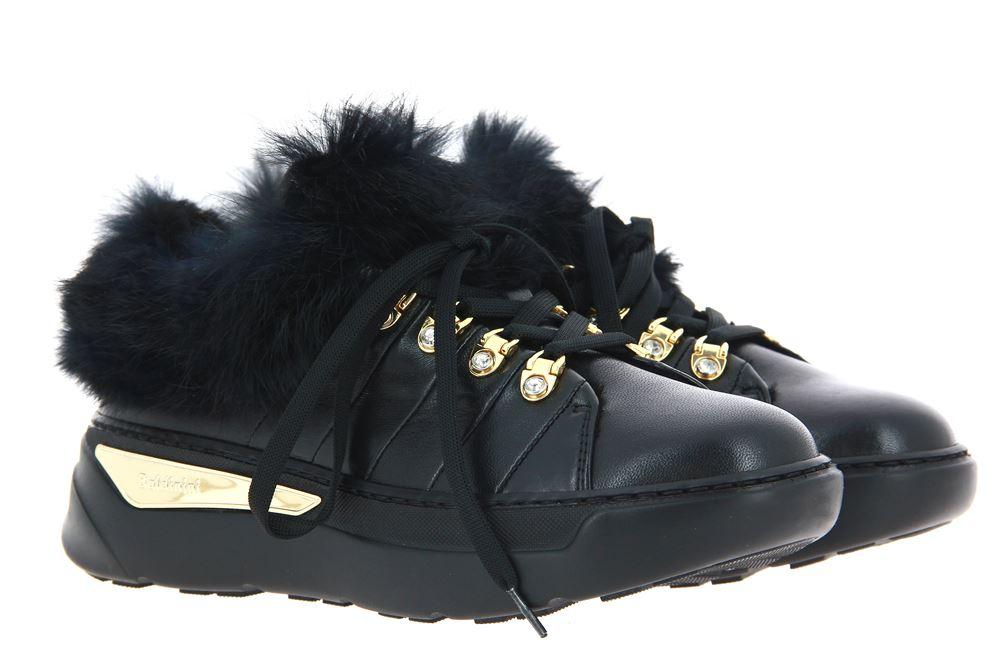 Baldinini Sneaker gefüttert NAPPA LAPIN NERO (37 )