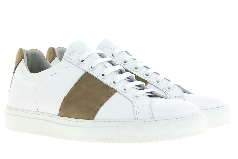 National Standard Sneaker WHITE BEIGE BAND (42½)
