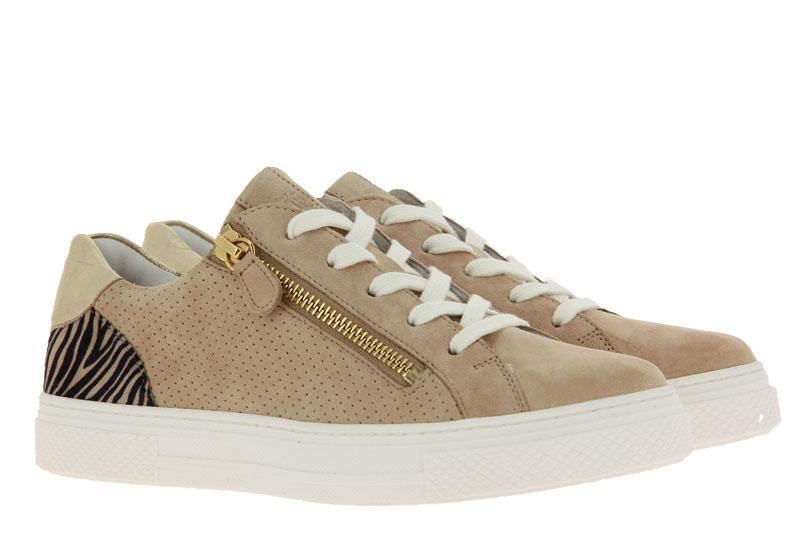 Hassia Sneaker BILBAO H-WEITE SAMTZIEGE COTTON PLATIN (40½)