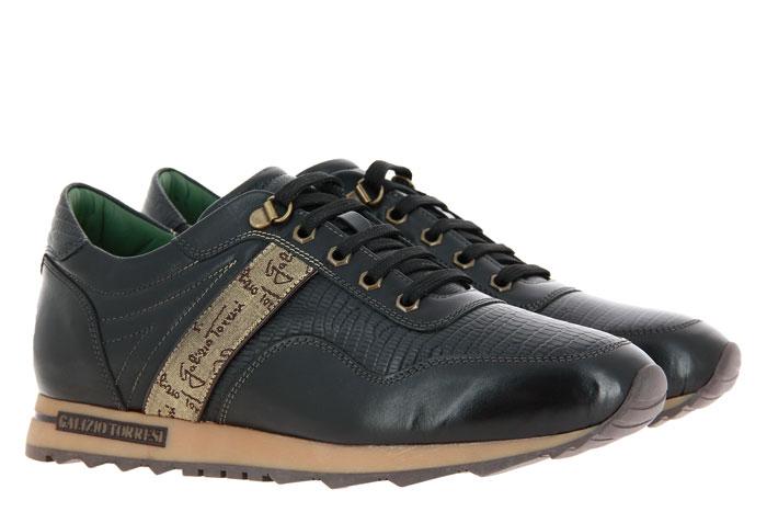 Galizio Torresi Sneaker INDIO NERO TEJUS NERO (45)