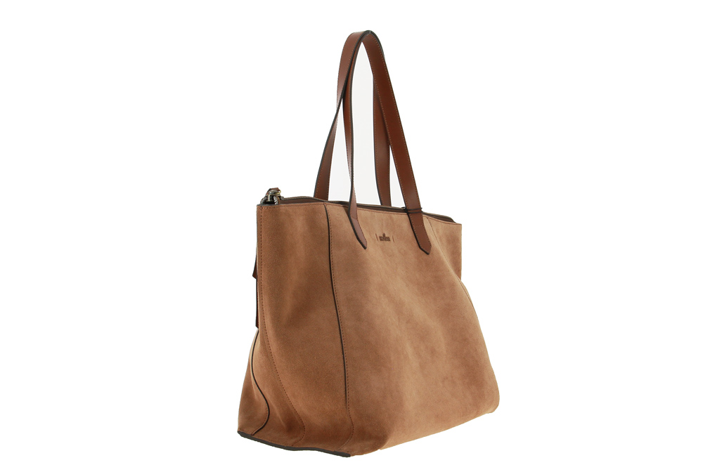 Hogan Shopper CHESTNUT NUBUK BROWN GRANDE