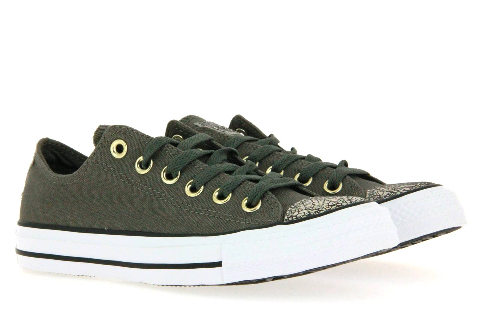 Converse ALL STAR CHUCK CTAS OX CHARCOAL WHITE (36½)