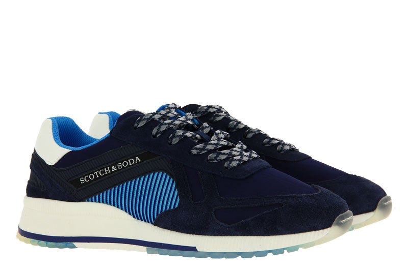 Scotch & Soda Sneaker VIVEY SUEDE NYLON BLUE MULTI (41)