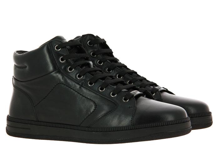 Galizio Torresi High Top Sneaker FOULARD NERO (41)