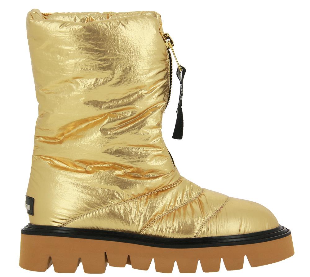 Elena Iachi Boots AKI ZIP SPACE GOLD