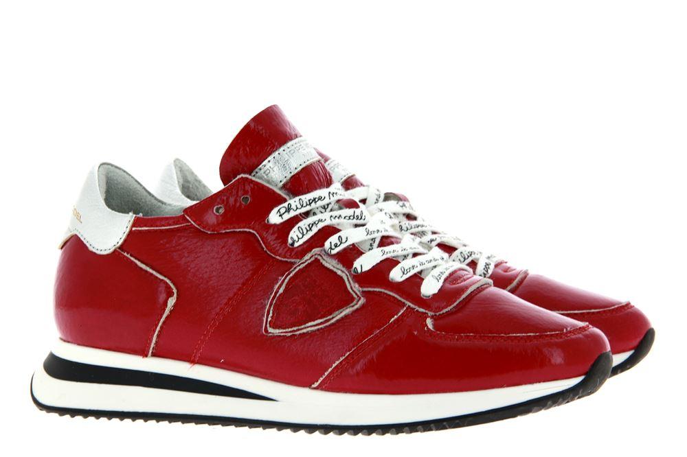 Philippe Model Sneaker gefüttert MOUTON COLEUR ROUGE  (37 )