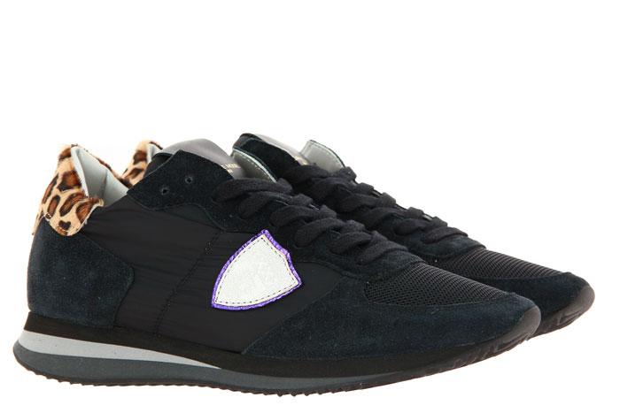 Philippe Model Sneaker TROPEZ MONDIAL LEO NOIR (37 )