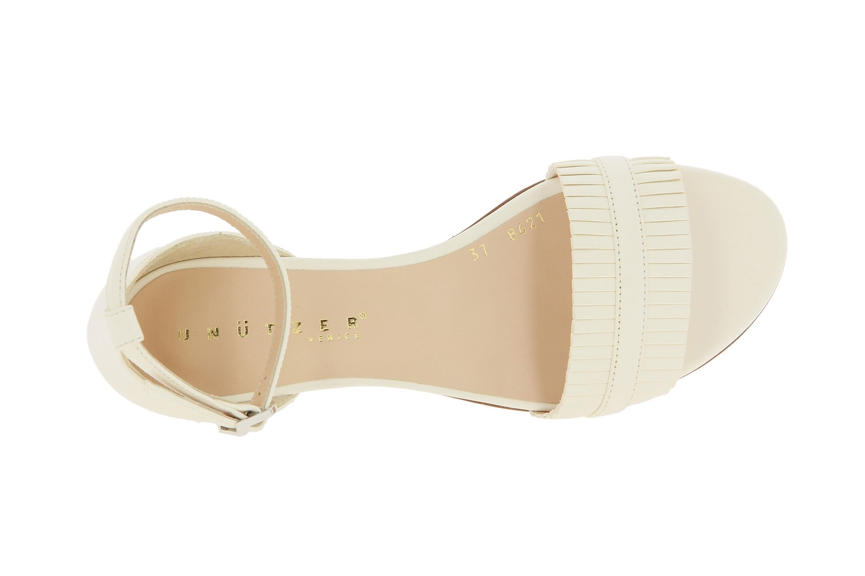 Unützer Sandale NAPPA CHALK (37 )