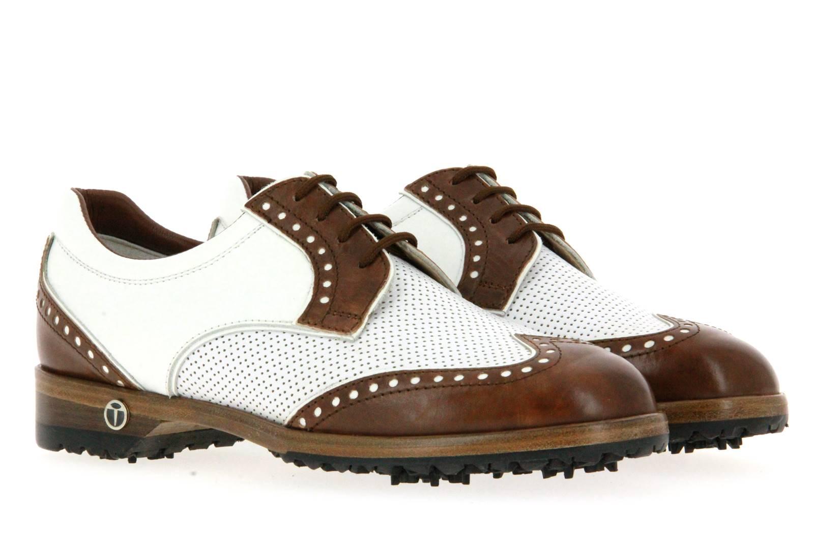 Tee Golf Shoes Damen- Golfschuh SALLY SAPIN BRANDY BIANCO (40½)