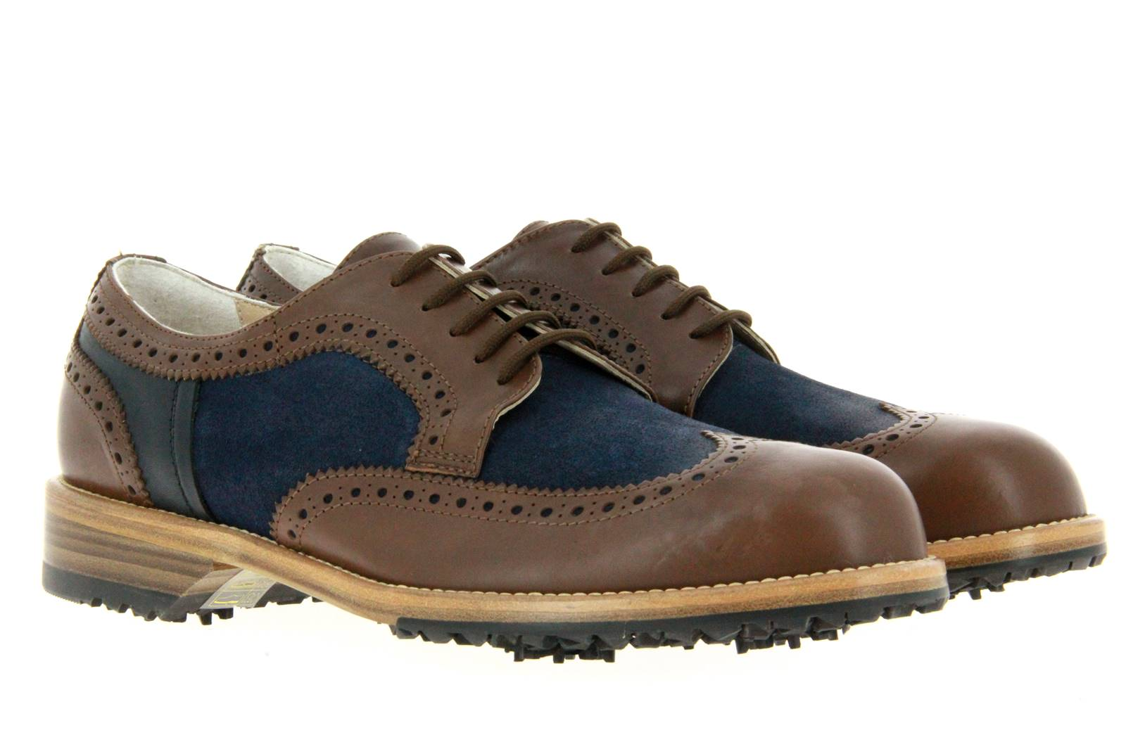 Tee Golf Shoes Herren- Golfschuh JASON MORO BLU (46)