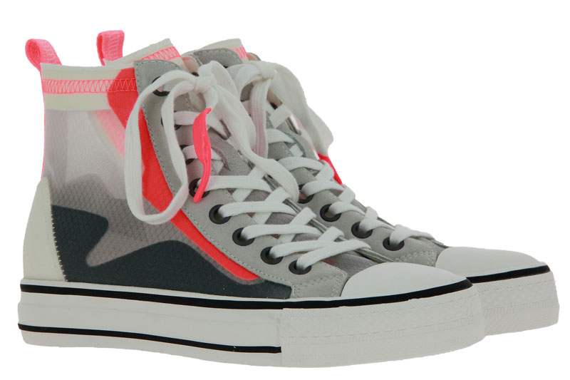 ASH Sneaker GASPER RIPSTOP NYLON TRANSPARENT CORAL (40)