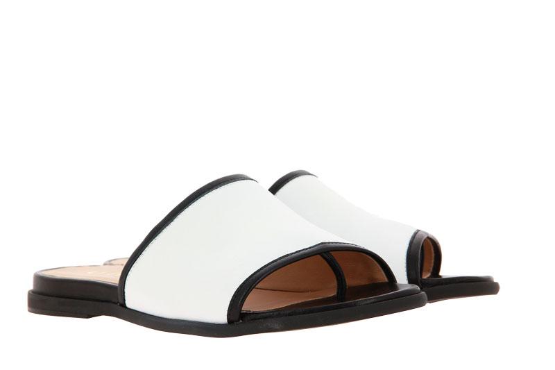 Unisa Pantolette CANDI NAPA SILK WHITE BLACK (37 )