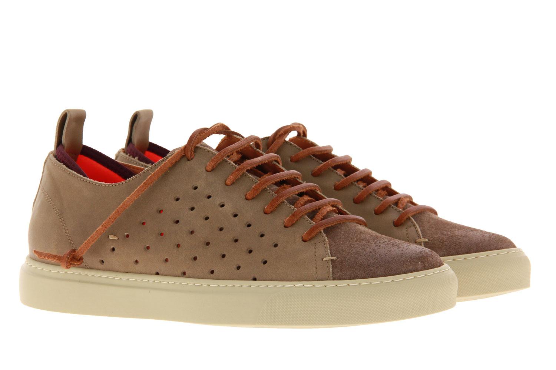 Levius Sneaker RIVA MISTA CAMOSCIO TAUPE COCCO (41)