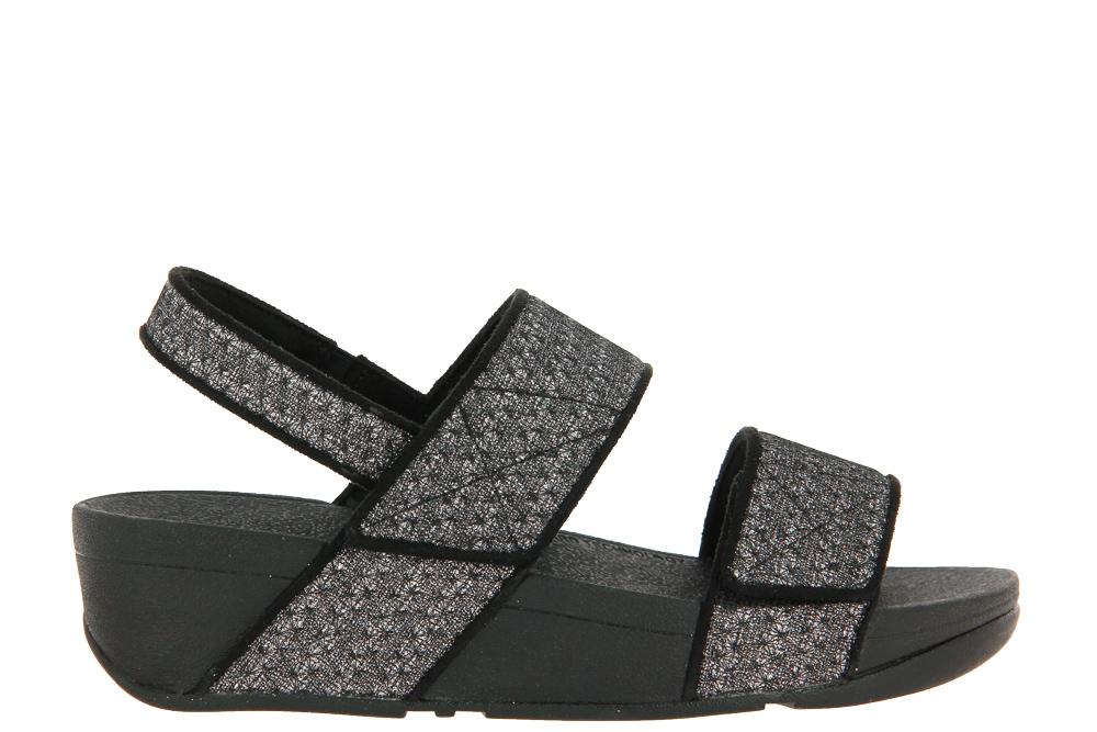Fitflop Sandale MINA GLITTER WEAVE BLACK