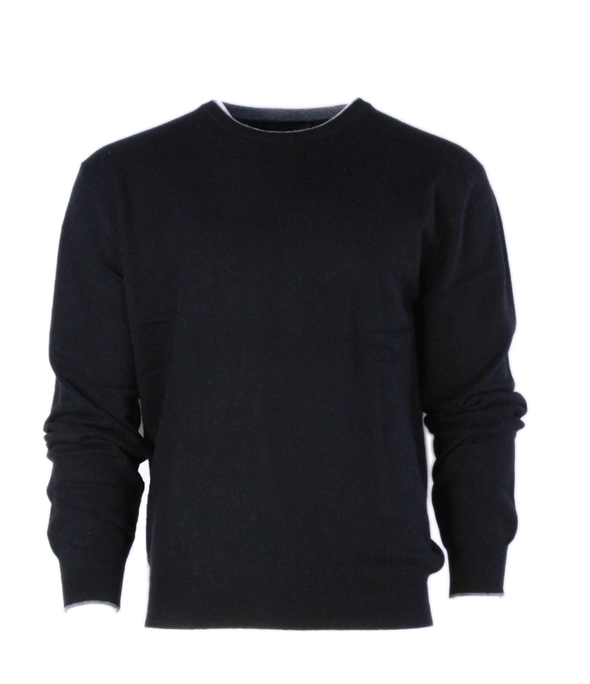Buxton Street Pullover CASHMERE BLACK (48)