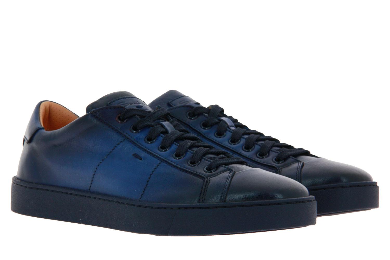 Santoni Sneaker NAPPA BLU (42½)