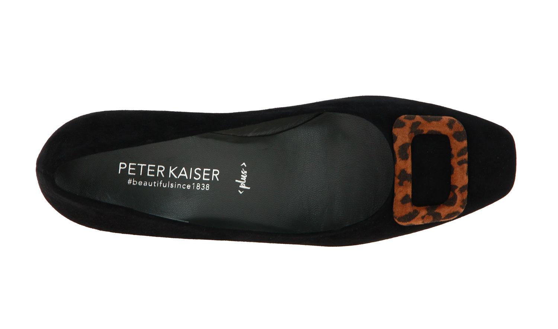 Peter Kaiser Pumps PANNI SCHWARZ SUEDE SABLE LEA (41)