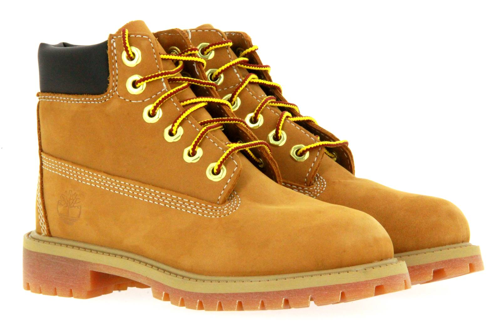 Timberland Boots JUNIOR 6 INCH PREMIUM WHEAT NUBUK YELLOW (33)