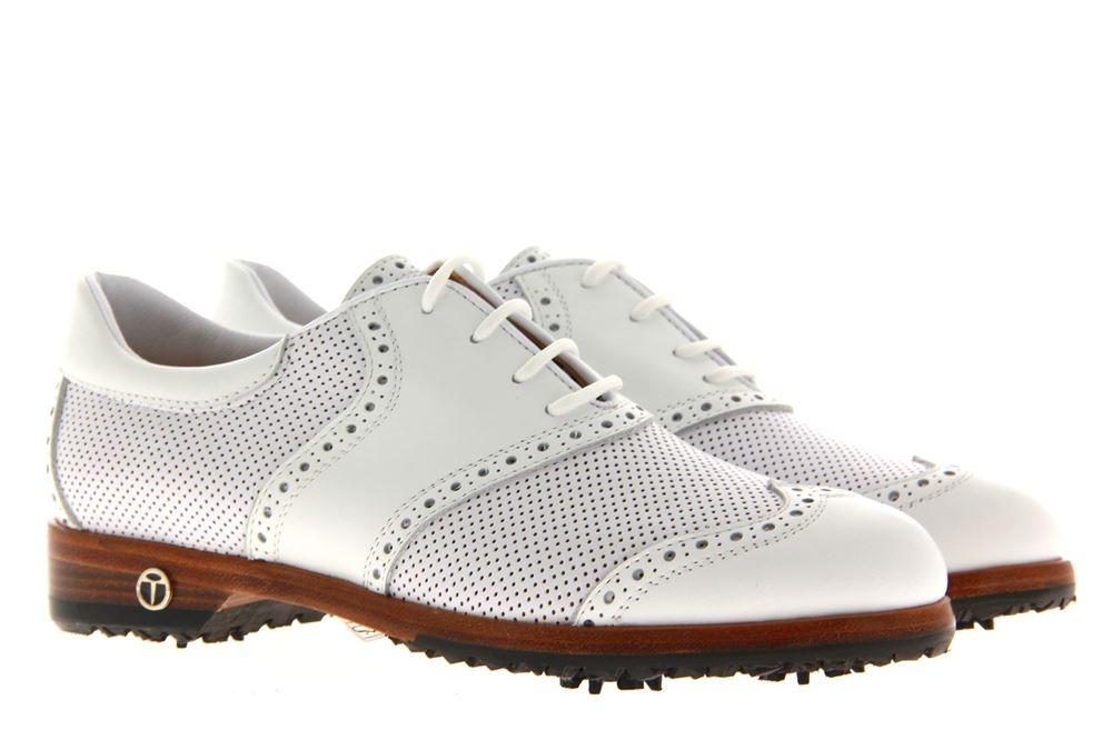 Tee Golf Shoes Damen- Golfschuh SUSY VITELLO BIANCO (37½)