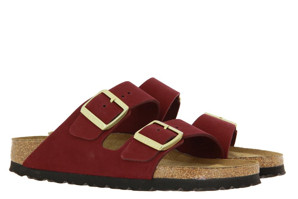 Birkenstock Sandale ARIZONA SCHMAL MAROON