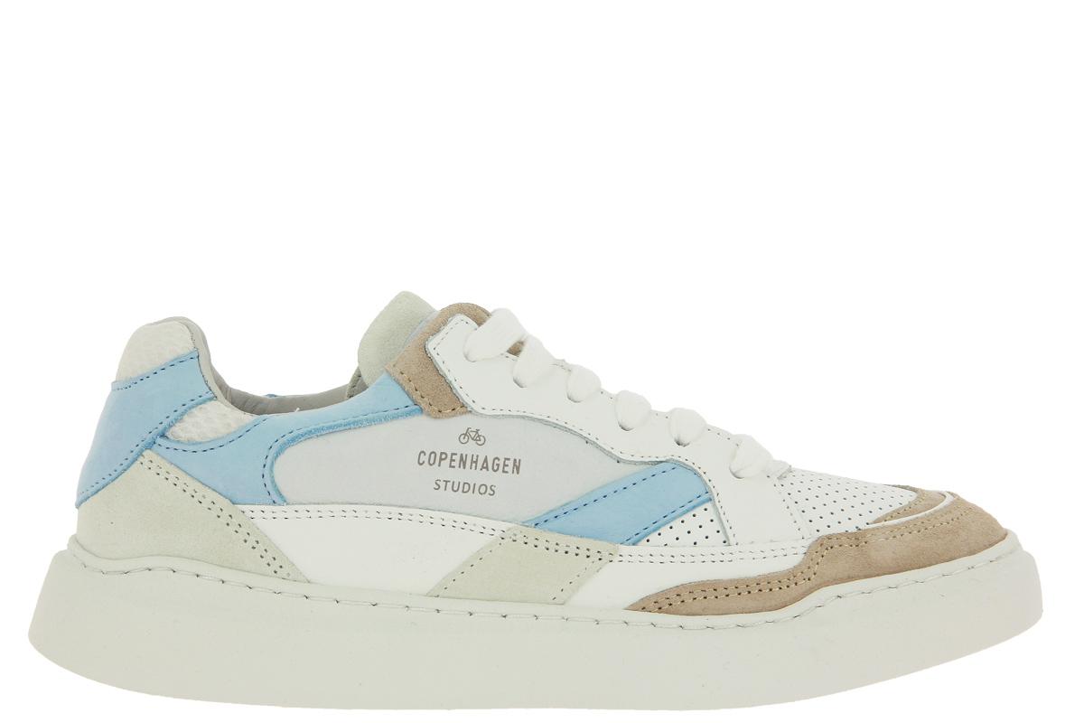 Copenhagen Sneaker CPH560 WHITE LIGHT BLUE