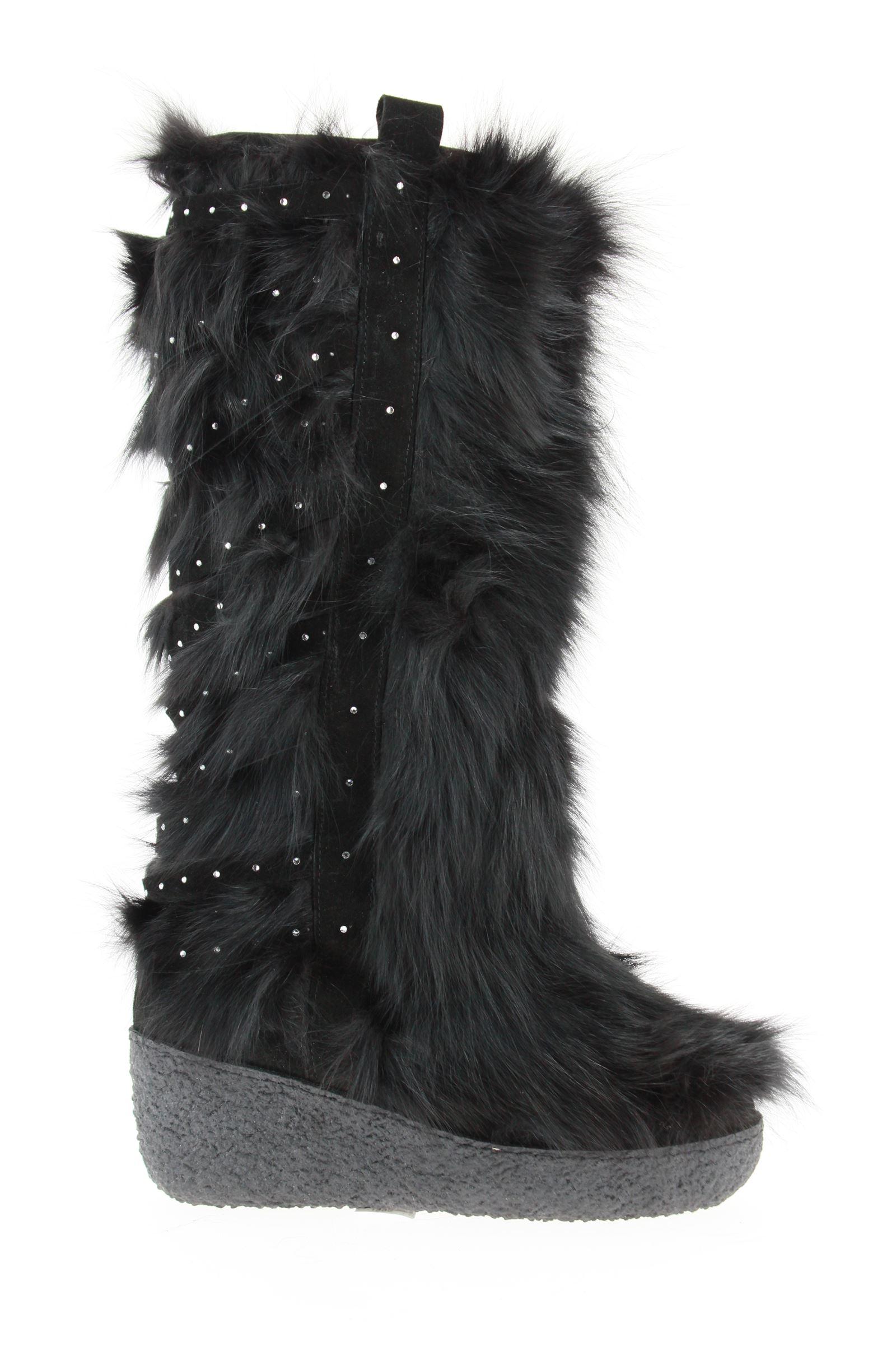 Diavolezza Fellschuh BLACK FOX SWAROVSKI CRYSTAL (41)