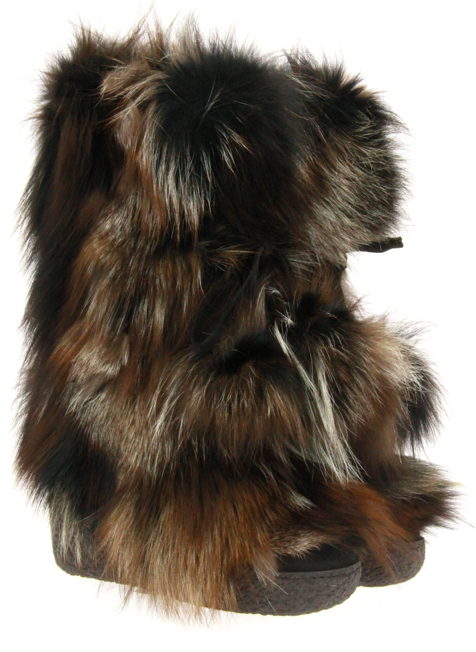 Diavolezza Fellstiefel MIX BEIGE FOX (38)