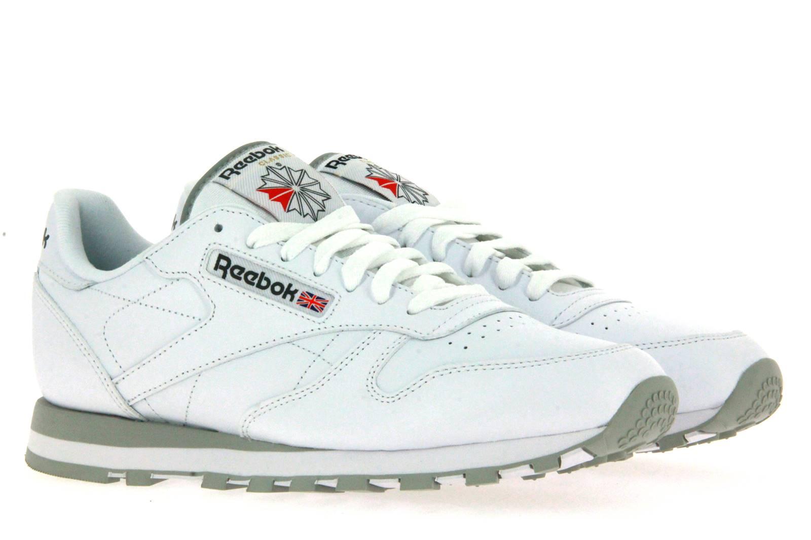 Reebok Sneaker CLASSIC LEATHER WHITE LT. GREY (45)