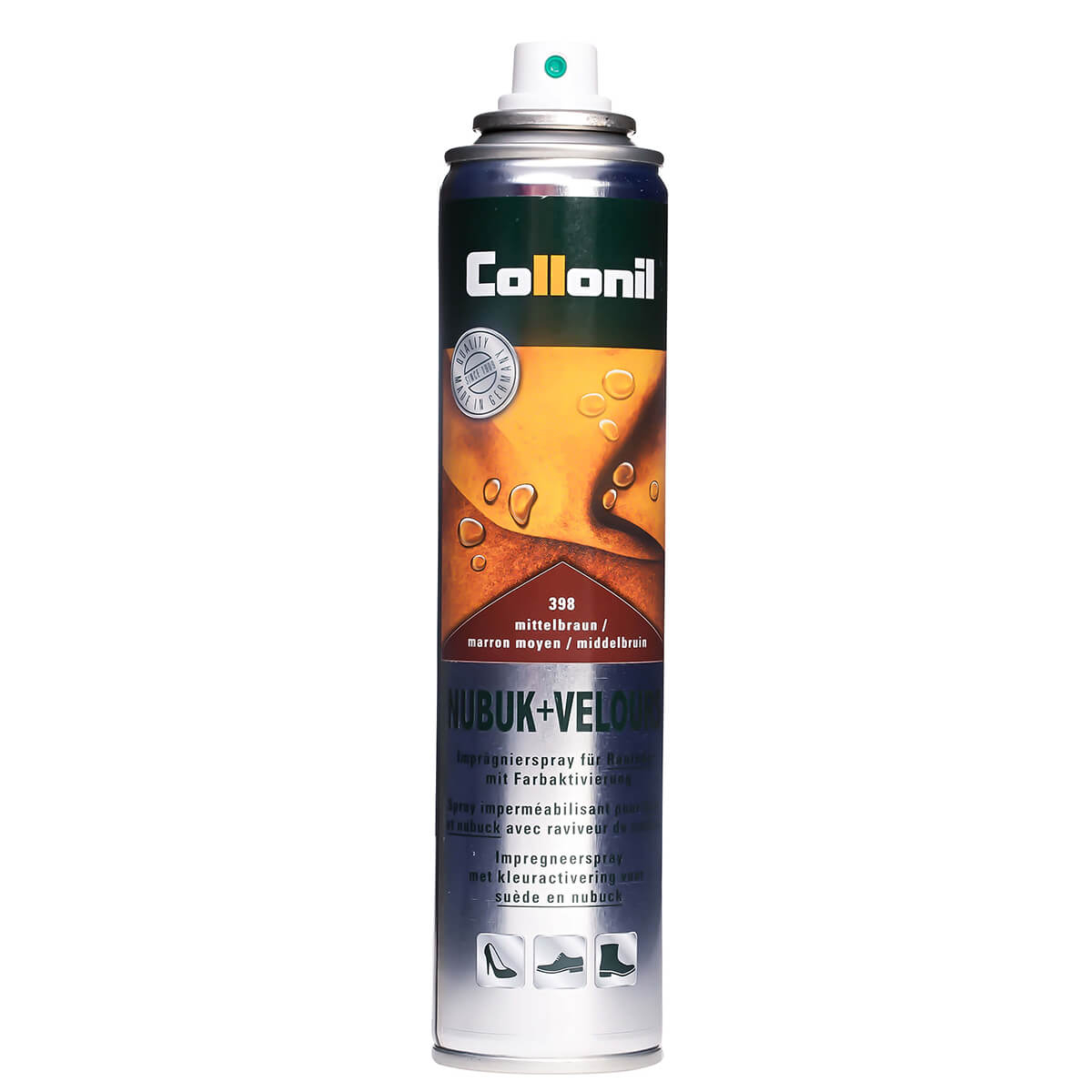 Collonil Spray NUBUK & VELOURS MITTELBRAUN