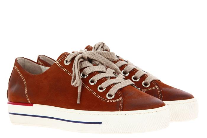 Paul Green Sneaker ROYAL NUBUK COGNAC USED (40½)