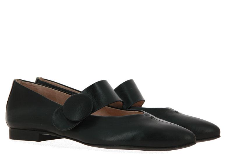 Paul Green Ballerina FOULARD SCHWARZ (40½)