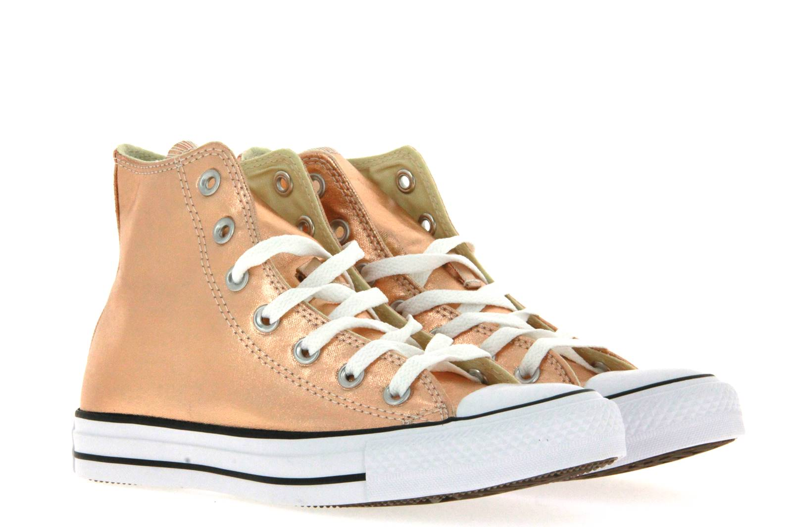 Converse ALL STAR CHUCK TAYLOR CTAS HI METALLIC SUNSET GLOW WIHTE (36)