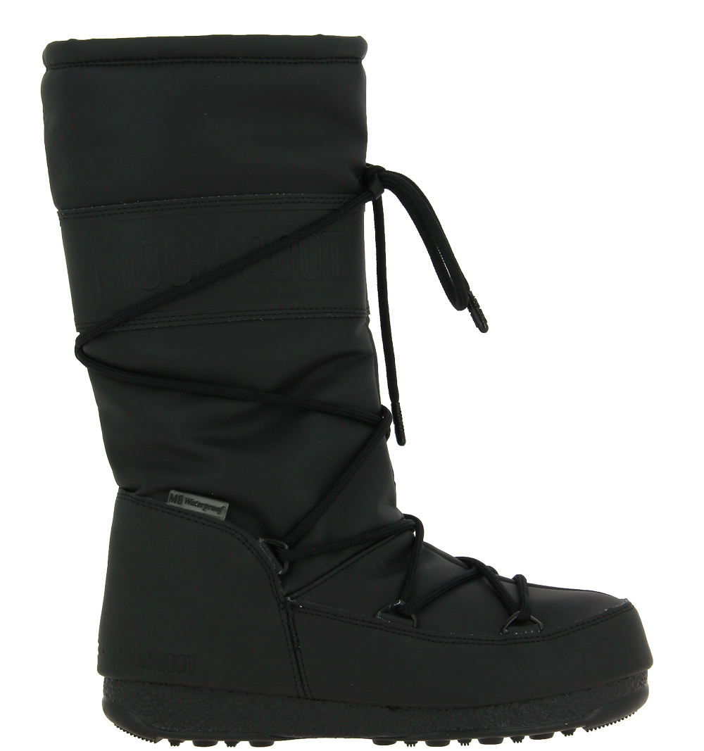 Moon Boot HIGH RUBBER WP BLACK
