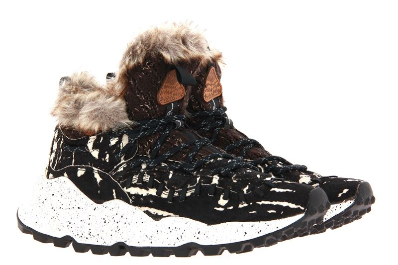Flower Mountain Sneaker MOHICAN MAN PONY TIGER BROWN (43)