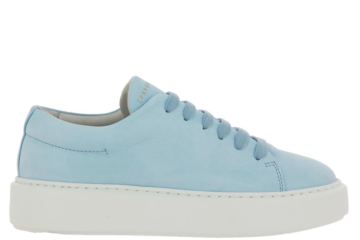 Copenhagen Sneaker CPH407 NABUK LIGHT BLUE