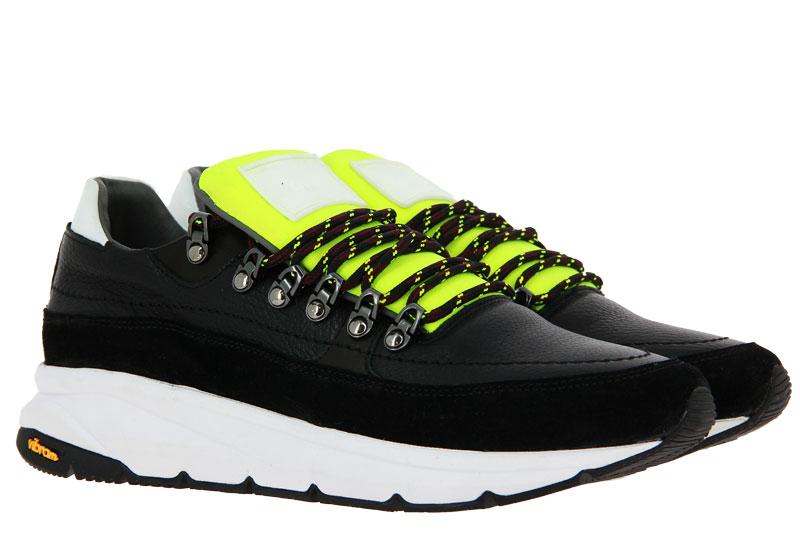 Pollini Sneaker SCARPAU MIX NERO GIALLO BIANCO (45)