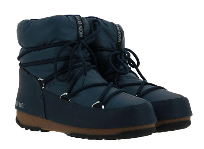 Moon Boot Snowboots LOW NYLON DENIM BLUE (37 )