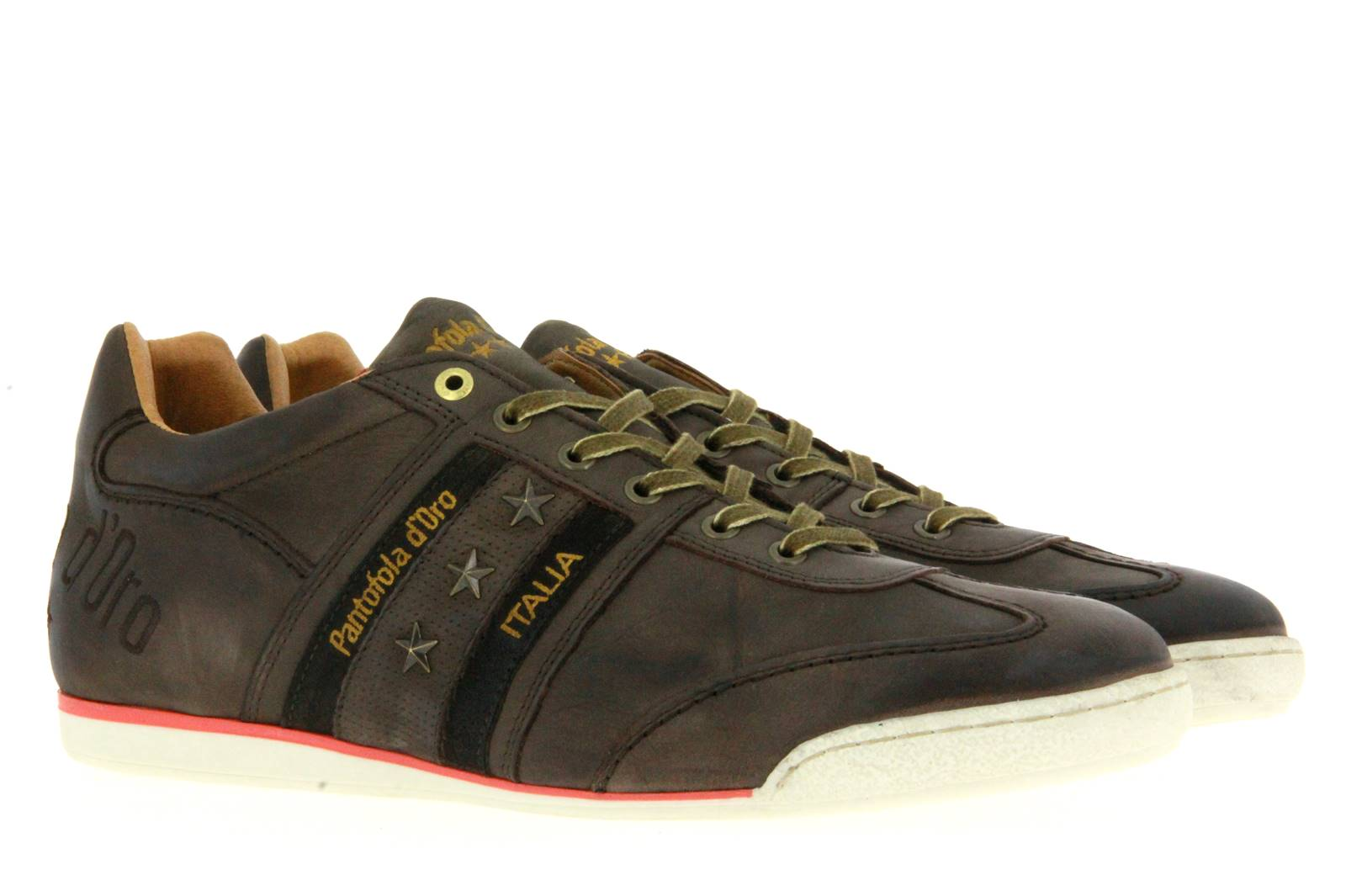 Pantofola d`Oro Sneaker ASCOLI VINTAGE LOW XL TORTOISE SHELL (50)