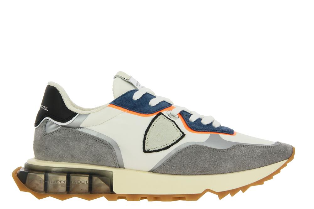 Philippe Model Sneaker LA RUE MONDIAL BLANC ORANGE