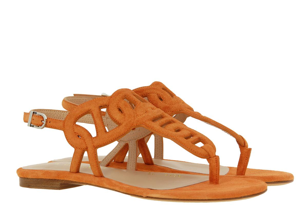 Unützer Sandale VELOURS ORANGE