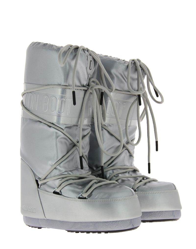 Moon Boot Snowboot CLASSIC PLUS METALLIC SILVER (35-38)