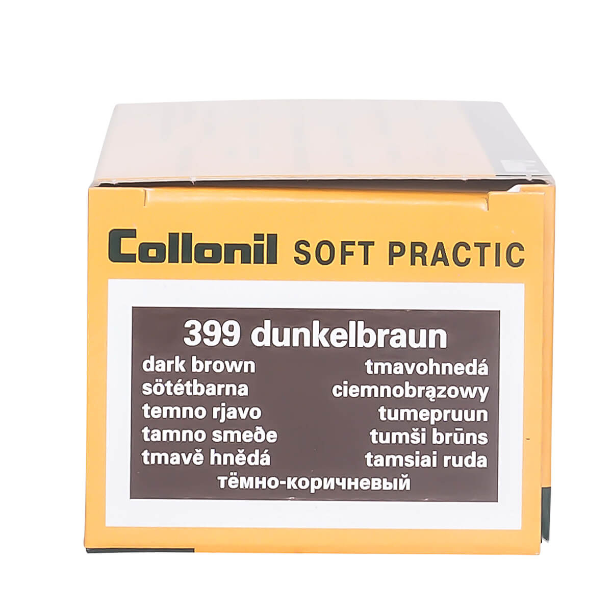 Collonil Creme  SOFT PRACTIC Dunkelbraun