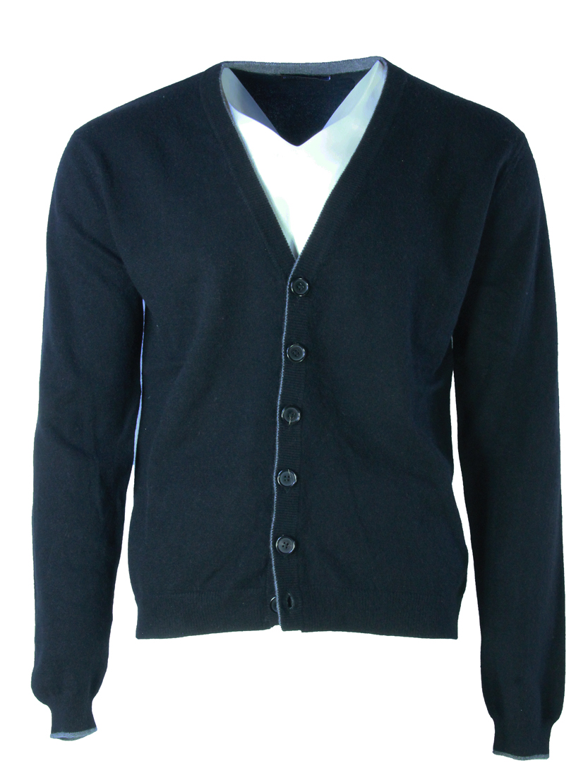 Buxton Street Cardigan CASHMERE BLACK (48)