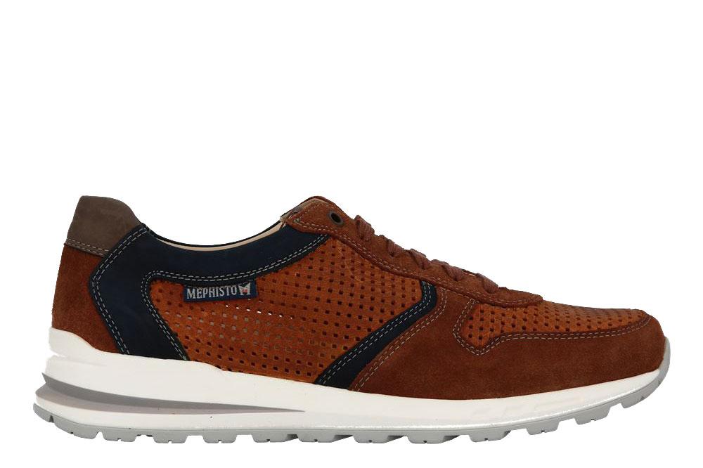 Mephisto Sneaker BORIS PERF TOBACCO VELOURSPORT (41)