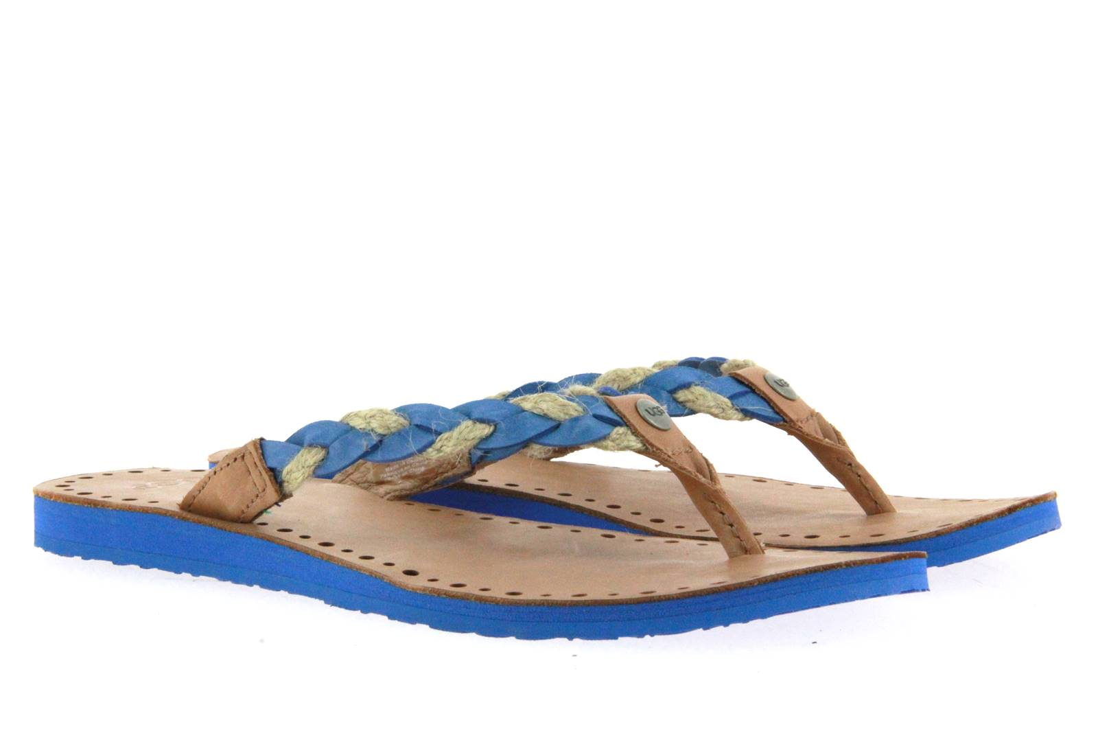 UGG Australia Flip Flop W NAVY BLUE (37 )